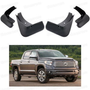 4 Mud Flaps Splash Guards Fender Car Mudguard For Toyota Tundra 2007 2018 Pickup