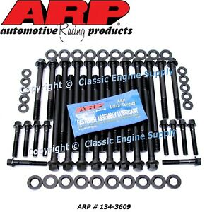 Arp Head Bolt Set Fits 1997 2003 Some 2004 Gm 4 8l 5 3l 5 7l 6 0l Ls Engines