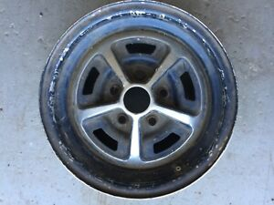 Mopar Magnum 5 Spoke Mag Wheel Rim 14x5 5 Road Runner Superbee Charger Single