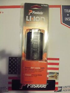 New Paslode Cordless Lithium Ion Rechargeable Battery 902654 Framing Nailer Usa