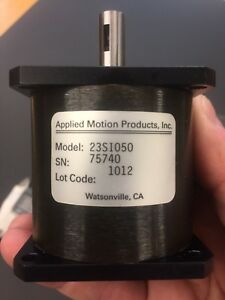 Applied Motion Products 23si050 High Precision Spur Gear Box For Stepper Motor