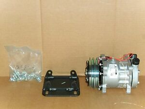 Ac Compressor And Mount York To Sanden Mount Sanden Hd Compressor With Tube O
