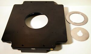 Nikon Ti sp Plane Stage With 2 Concentric Rings For Ti Microscope