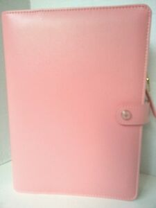 Websters Pages Color Crush Pink Planner Kit New A5 Pink 6 Ring Binder Organizer