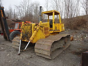 John Deere 850 Bulldozer Runs Mint Big Power 12 Angle Blade Crawler Dozer