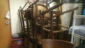 Lot Of 22 Restaurant Chairs