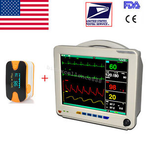 Usa Patient Monitor Multi parameter Patient Monitor Nibp Spo2 Ecg Temp Resp Pr