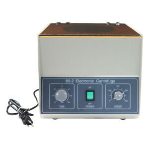 New 110v 80 2 Electric Benchtop Centrifuge Lower speed Centrifugal Machine