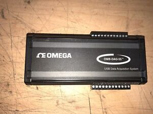 Omega Omb daq 55 Thermocpuple Process Signal Usb Data Acquisition Module