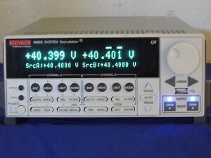 Keithley 2602b Dual Channel Sourcemeter New Display
