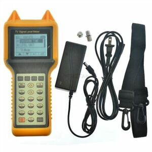 Digital Signal Level Meter Catv Cable Testing 46 870mhz Ry s200 Ber Mer New T Cx