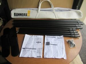 8 X 8 Telescopic Adjustable Banner Stand made By Stickersbanners com