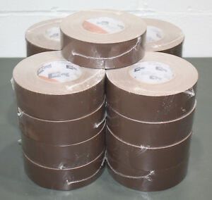 17 Rolls Shurtape P628 Brown Gaffers Tape 48mm X 50m 2 X 55 Gaff Cloth