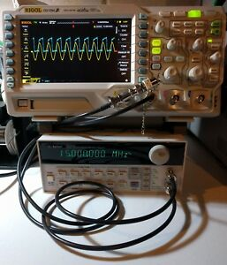 Agilent hp keysight 33120a Function arbitrary Waveform Generator 15 Mhz Tested