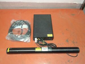 Melles Griot 05 lgp 151 Green Class 3r Laser W Power Supply 05 lpl 915 065