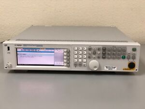 Agilent Keysight N5183a 20 Ghz Mxg Microwave Analog Signal Generator Tested