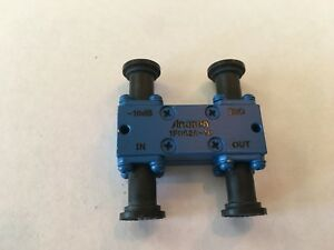 Anaren 1f0626 10 Directional Coupler 2 0 4 0 Ghz H Style