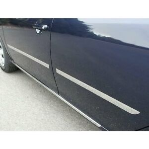 For Hyundai Elantra 2007 2010 Saa I type Polished Body Side Moldings