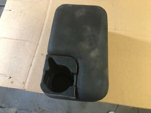 1997 2003 Ford Ranger Dark Grey black Center Console With Cup Holder 2 Bolt Styl