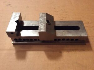 Machinist Tool Die Precision Grinding Mill Drill Press Vise 2 X 2 1 2 X 7