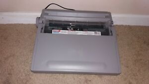 Brother Gx 6500 Electric Electronic Typewriter W Keyboard Cover