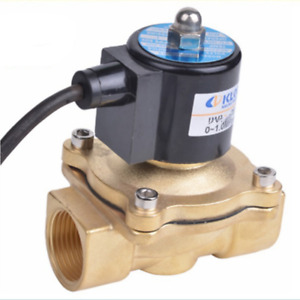Ac110v G2 Brass Electric Solenoid Valve Nc For Water Oil Waterproof Ip67