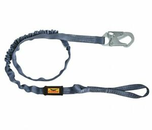 Condor Shock absorbing Lanyard 45j286 1 Leg 6 Feet Harness Hook Choke Off Loop
