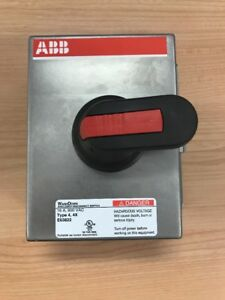 Abb Raintight Enclosed Disconnect Switch 16 Amp 600 Vac Stainless E63822 New