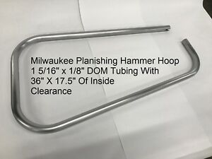 New 36 Milwaukee Planishing Hammer Hoop