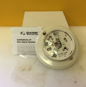 System Sensor B501bh 32 To 120 f 2 Wire Smoke Detector Sounder Base New