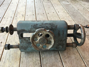 Vintage Lathe Milling Machine Part Blade Tensioner Walker Turner