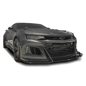 For Chevy Camaro 17 18 Apr Performance Carbon Fiber Front Wind Splitter W Rods