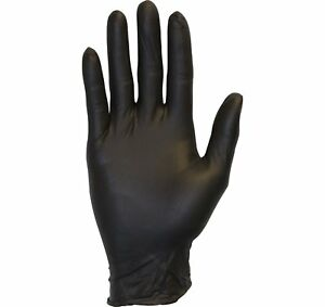 Safety Zone Gnep Black Nitrile Exam Gloves Small 10 Boxes Of 100