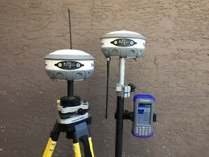 Hemisphere S320 Rtk Kit With Mini2 Data Collector Knot Trimble Leica Topcon