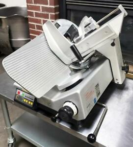 Bizerba Se12d Bakery Restaurant Commercial Automatic Meat Deli Cheese Slicer