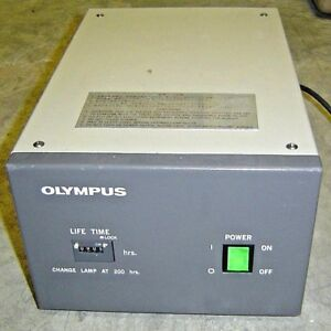 Olympus Optical Bh2 rfl t2 Power Supply For Microscope Light