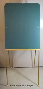 Presentation Easel With Chalk Board With Telescoping Leg 24 021 By Ampad