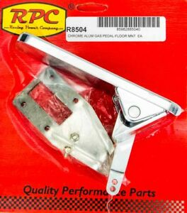 Racing Power Co R8504 Floor Mount Gas Rectangle Pedal Assembly Universal