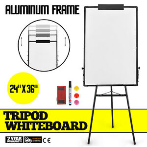 Tripod Mobile Whiteboard On Wheels With Stand 36 24 White Board Magnetic