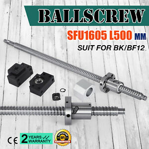 Anti backlashed Ballscrew Sfu1605 500 Rm1605 Ball Nut Cnc Set Accurate Newest