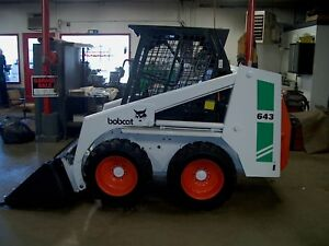 Bobcat 643 Skid Steer Loader Kubota Diesel Aux hydrlcs One Owner 3100 Hours