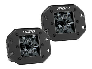 Rigid Industries 212213blk Black D Series Spot Flush Mount 2 Midnight Led Light