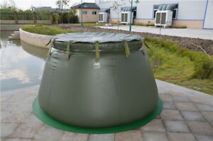 2 Ton Storage Tpu Water Tank For Agricultural And Industrial In Green Color