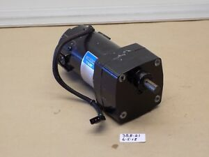 used Pulloff Leeson Dc Gear Motor Cm31d18nz5g Cat m1125002 00 90vdc 1 17hp