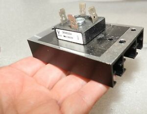 5 Together 36mb20a Bridge Rectifiers Attached To Heat Sink