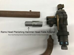 Rams Head Planishing Hammer Head Adapter universal
