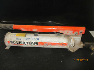 Spx Power Team P 159 Hydraulic Pump Two Speed 10k Psi Free Shipping