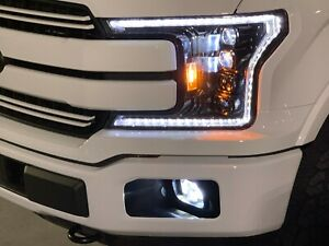 Psp Led Driving Light Kit For Ford F150 2018 2020 In The Factory Fog Location