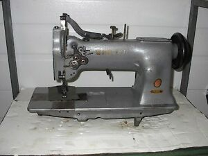 Singer 112 2 Needle Disengageable Center Knife Placket Industrial Sewing Machine