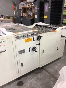 Tec Lighting Xc29 1 3a Uv Coater Graphic Whizard Duplo Dry Tech